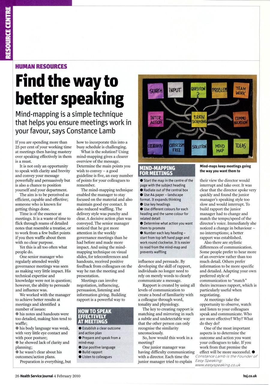 Find The Way To Better Speaking